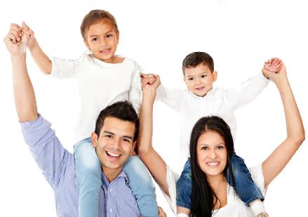 RHD Dental Care Happy Family